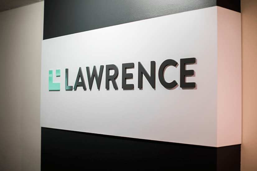 Lawrence Group Signage